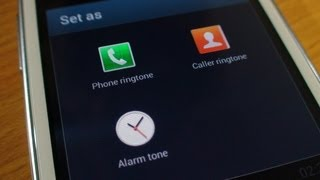 How to set a ringtone on Samsung Galaxy S3 Mini