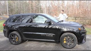 Download The $100,000 Jeep Trackhawk Is the Most Powerful SUV Ever Mp3 and Videos