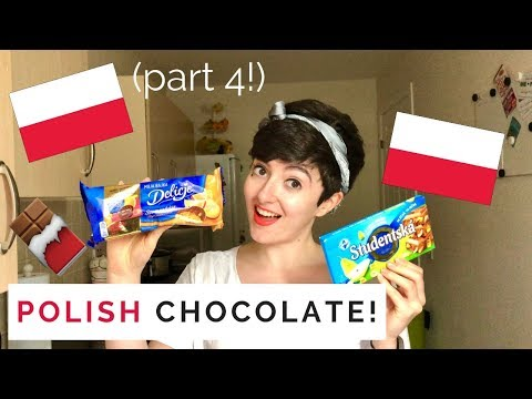 Scottish Girl Tastes POLISH CHOCOLATE Part 4!