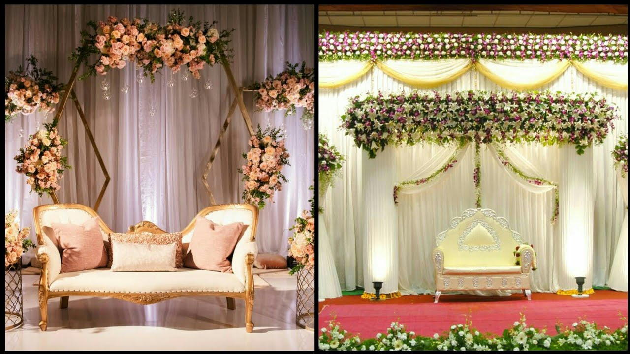 Most Beautiful And Wonderful Wedding Stage Decorations