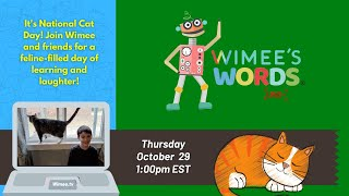 Wimee's Words - October 29, 2020 (CATS!)