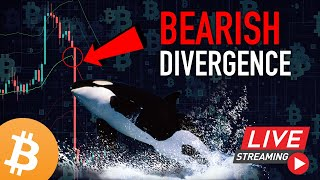 BITCOIN DUMPS 7% AFTER A BEARISH DIVERGENCE! - Ghost Vision Cryptocurrency Market Analysis