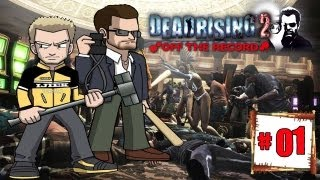 Dead Rising 2: Off The Record Co-op Walkthrough With Steve Ep.1 - Frank Why You So Fat?