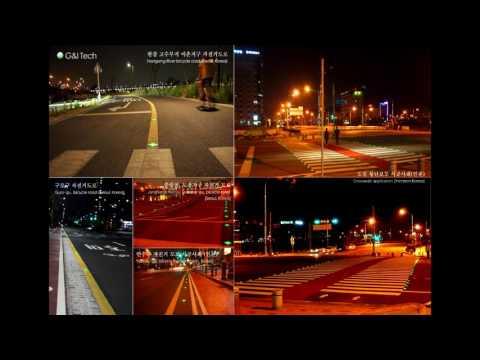 G&I Tech - Video portfolio of Solar road stud