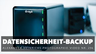Datensicherheit mit dem DROBO 5D3 - ah-photo Video 234
