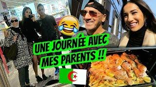 UNE JOURNÉE AVEC MES PARENTS !! FOU RIRE 😂