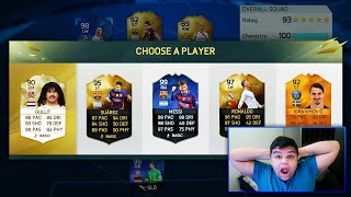 COMPLETING 193 RATED FUT DRAFT ..... AGAIN?!? - FIFA 16 99.99% IMPOSSIBLE FUT DRAFT CHALLENGE