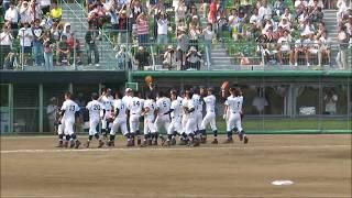 三本松高校 9回裏 優勝の瞬間 第99回 高校野球 香川県大会 三本松高校 検索動画 16