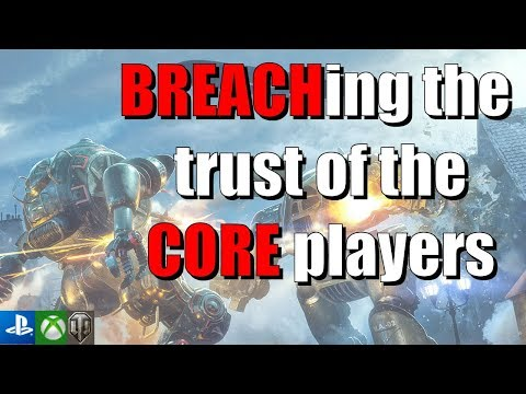 CORE BREACH arrives on the 29th - World of Tanks Console thumbnail