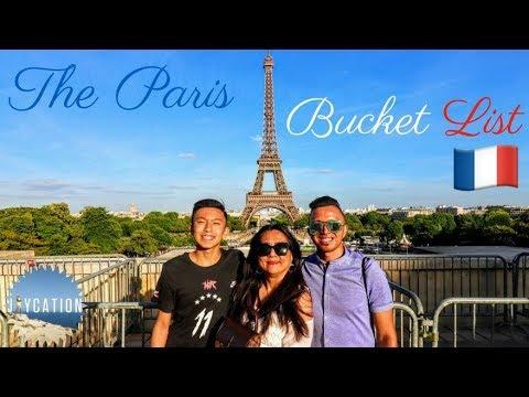 PARIS BUCKET LIST 🇫🇷 | FRANCE TRAVEL VLOG