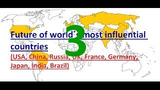 Future of the World´s most influential Countries: #3 -HDI