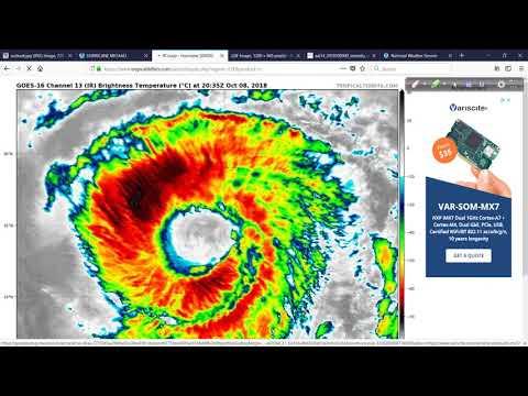 Hurricane Michael Discussion: 10:20 PM ET Oct 8, 2018