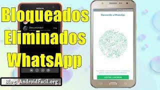 Contactos bloqueados o eliminados en WhatsApp | Revisiones | Análisis