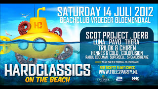 Kidd Kaos @ Hardclassics on the Beach (14-07-2012) - Freestyle Maniacs stage