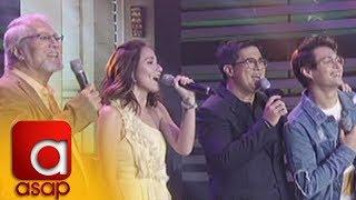 "ASAP: Seven Sundays stars sing ""Batang Bata Ka Pa"""