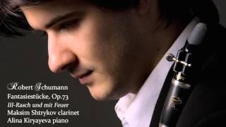 Schumann Fantasiestucke Op.73: No.3 Rasch und mit Feuer Maksim Shtrykov & Alina Kiryayeva