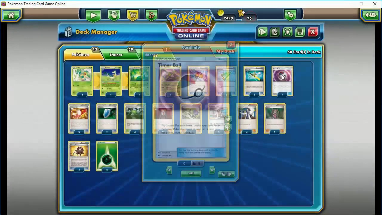 how to build a pokemon deck 2017