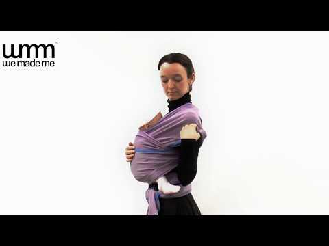 WMM 3p3 英國嬰兒揹巾 新生兒起用 - 彈性長布示範