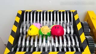 Подрібнення Playdoh, М'які іграшки та слизу - Задовольняє збірник ASMR