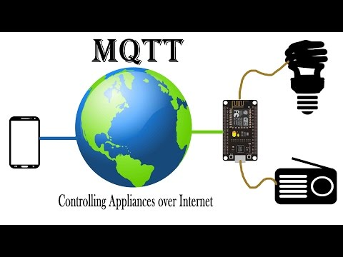 MQTT + Nodemcu (Controlling appliances over Internet using your Smart Phone)| IoT Projects | ESP8266