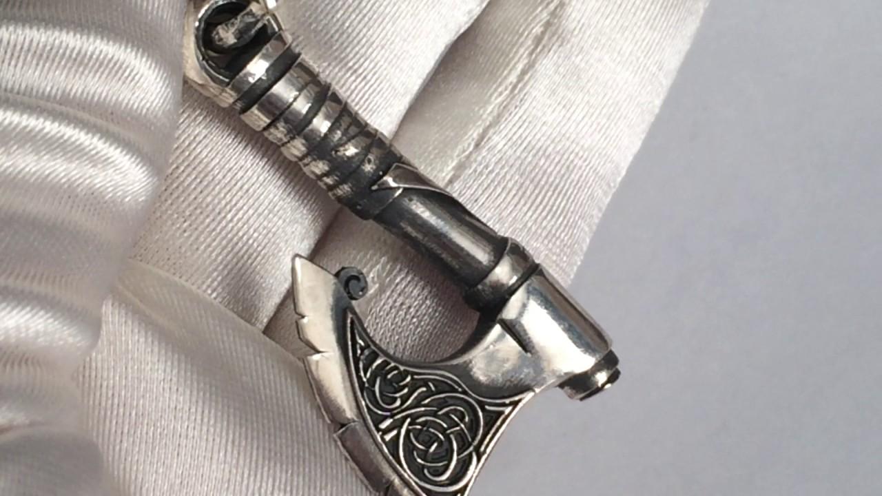 Различные славянские обереги из серебра (Крес, лунницы, молоты .
