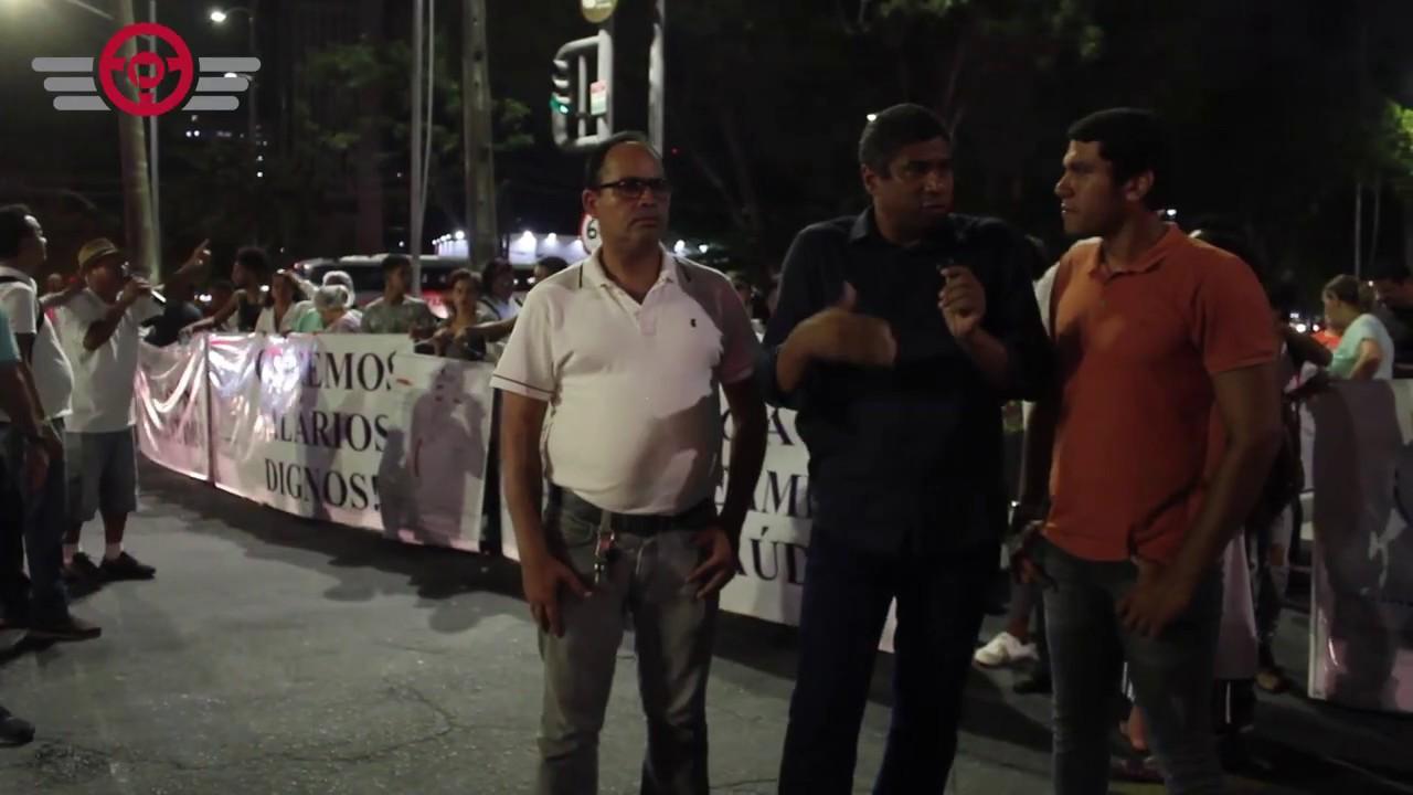 Rodoviários apoiam greve dos Auxiliares e Técnicos de Enfermagem