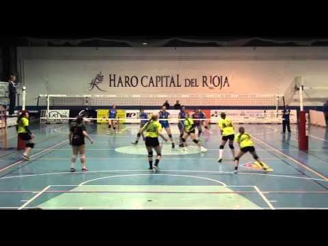 Sara Sarmiento - Superliga 1 España (CV Haro -  Murcia)