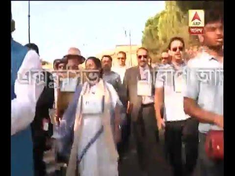 Mamata Banerjee sing songs for Mother Teresa at Vatican City
