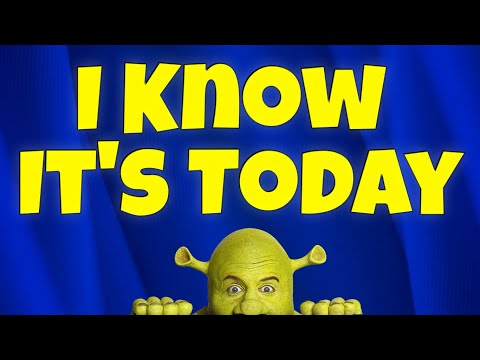 I know it's today karaoke instrumental Shrek