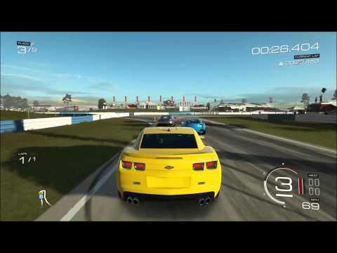 Forza 5 2012 Chevrolet Camaro ZL1 on Sebring Gameplay