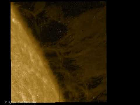Curtains in the solar corona