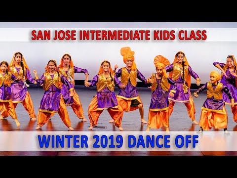 San Jose Intermediate Kids Class - Winter 2019 Dance Off