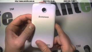 Lenovo a820 White/белый краткий обзор смартфона