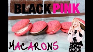 How to make Blackpink Macarons