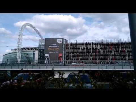 Wembley stadium and park london