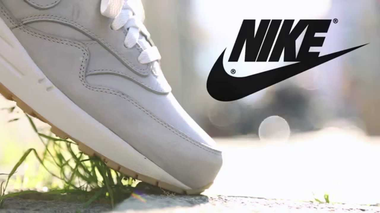 Nike Air Max 1 Leather Premium Grey