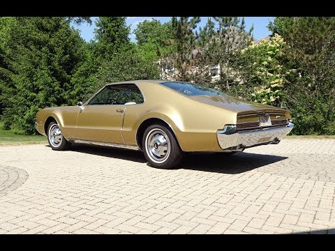 1966 Oldsmobile Olds Toronado in Trumpet Gold & Engine Sound on My Car Story with Lou Costabile
