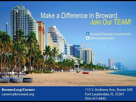 Join the Broward County Team