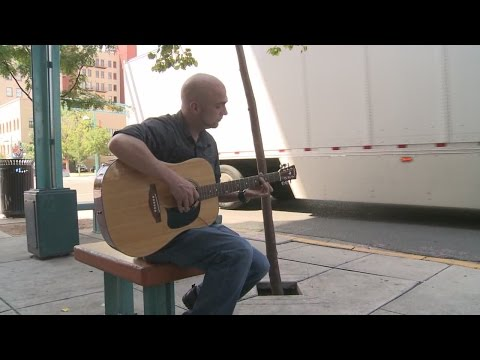 Albuquerque man buys guitar in hopes of finding owner