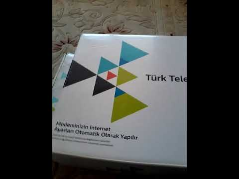 Türk telekom tivibu modem açmak