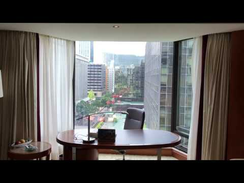Kowloon Shangri La Hotel Hong Kong Partial Harbour View Room