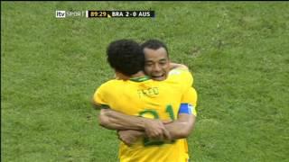 World Cup 06 Brazil v Australia Fred Goal