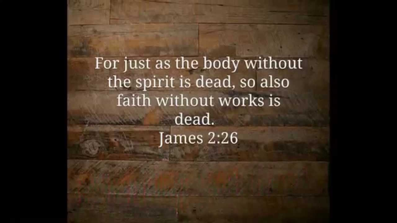 Image result for faith without works is dead