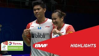 TOTAL BWF SUDIRMAN CUP 2019 | XD | CHINESE TAIPEI VS INDONESIA | BWF 2019