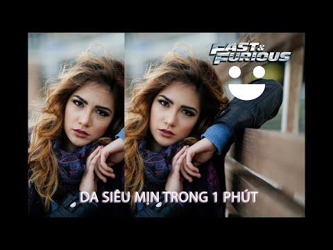 Làm Mịn Da Siêu Nhanh Trong 1 Phút - Action Photoshop