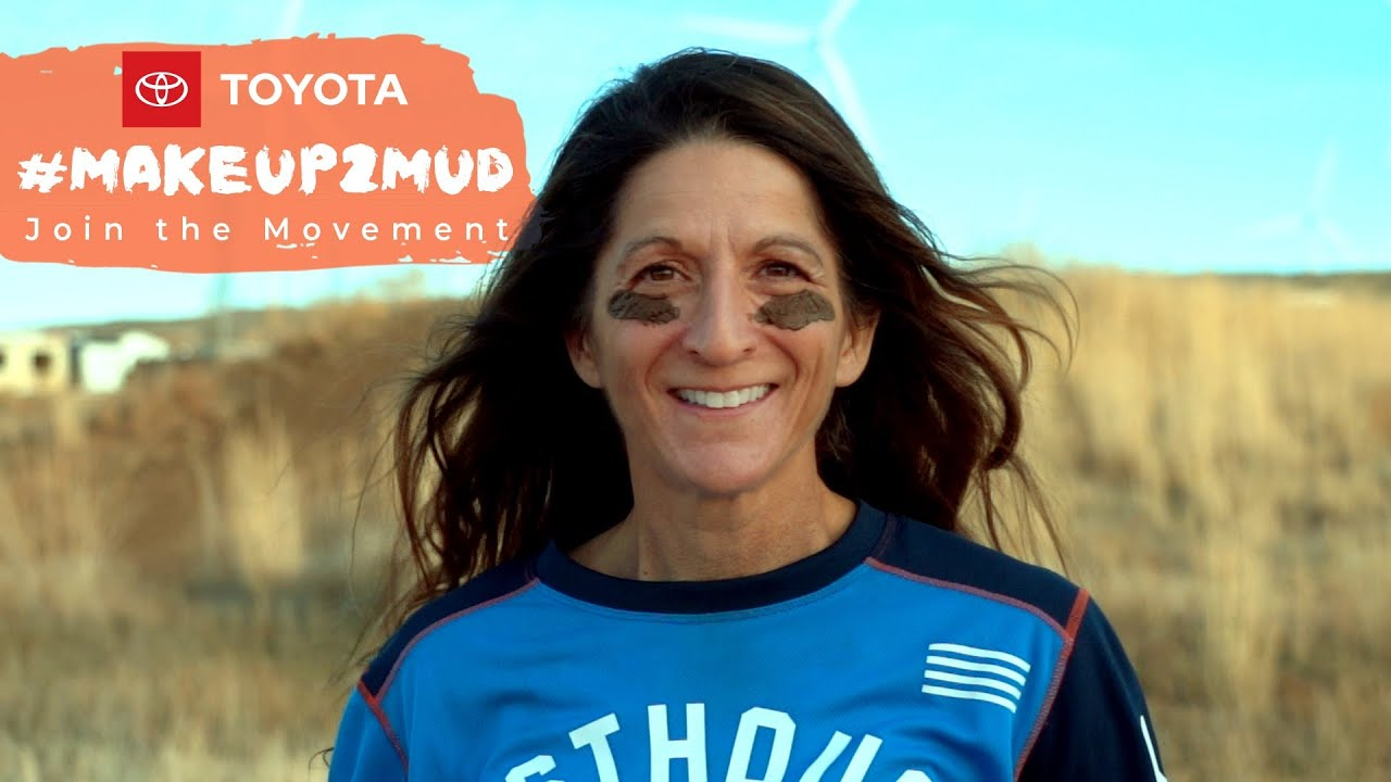 Toyota #Makeup2Mud -  Dawn Stob