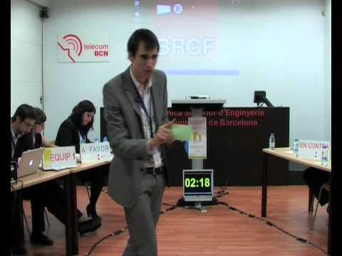 VII Lliga de Debat Universitari. Debat UB-UPC