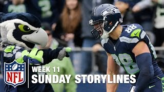 Sunday's Best (and Worst) Moments from Week 11 | Sunday Storylines | NFL Network
