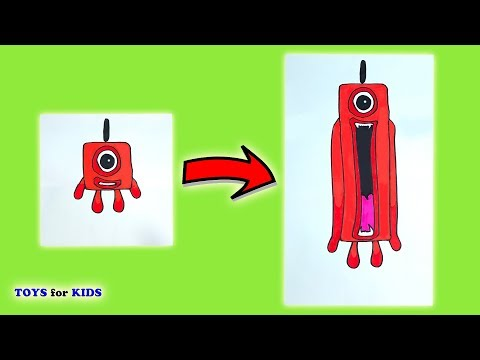Numberblocks - Funny Things You Should Try To Do At Home