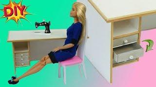 як зробити робочий стіл для ляльок